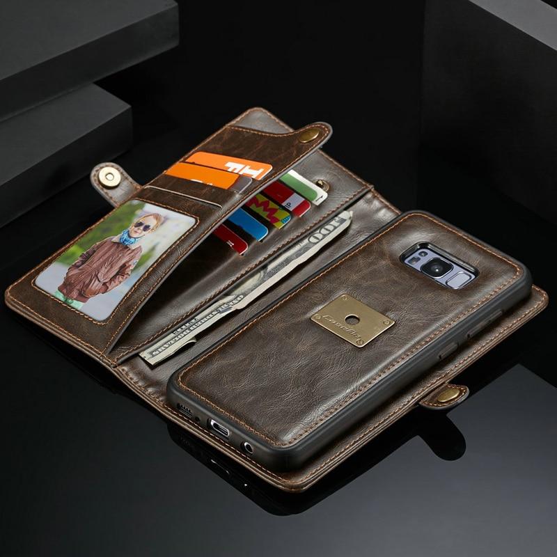 Caseme Leather Wallet Case For Samsung Galaxy S8 Original