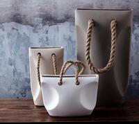 Украшения домашнего интерьера, ваза для цветов, керамические цветы, керамические вазы, гостиная украшения, керамические украшения