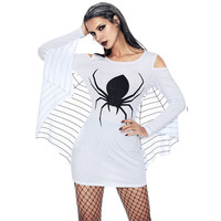 new Plus size 3D Print Spider Gwen costume Halloween for Woman Anti Gwen Venom Gwenom Spiderman Cosplay dress Female Spider Suit