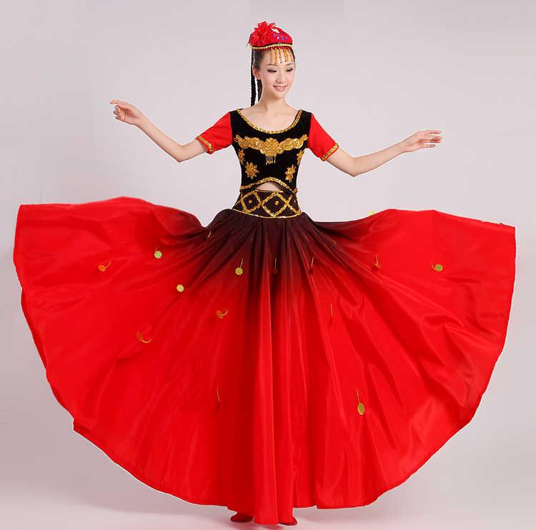 89fa9e77ff7f Detail Feedback Questions about New Xinjiang Uighur Dance Costume ...
