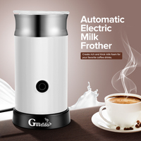 Gustino Electric Coffee Maker Automatic Milk Frother Cappuccino Coffee Maker For Hot Frothing Heating Milk Cold Frothing new