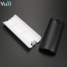 YuXi 10pcs Battery Lid Door Pack Shell Cover Case Replacement Repair Part for Nintend Wii Remote wireless Controller Accessory все цены