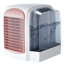 Usb Portable Air Conditioner Humidifier Purifier Cooler Mini Fans Personal Space Device