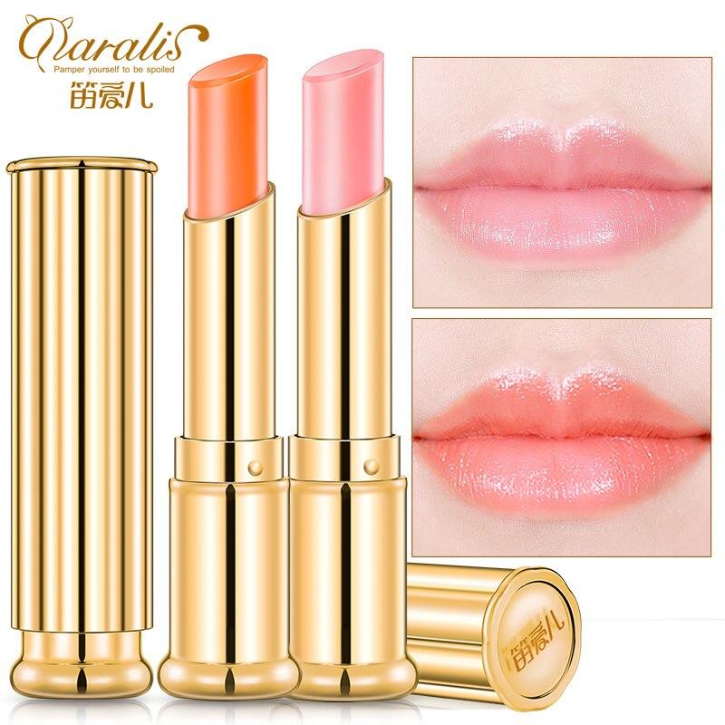 Daralis Carotene Color Change Moisturizing Lip Balm Carrot -8280