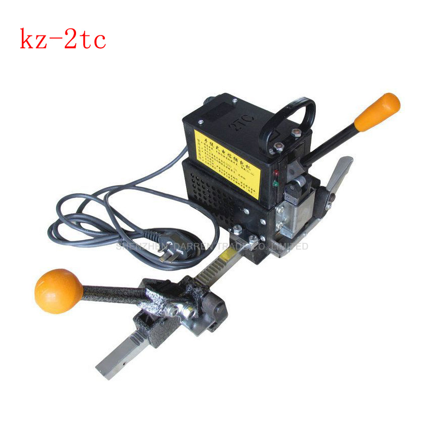 ФОТО 1pc Portable electricity hot melt baling press Manual packing machine Plastic tape wrapping machine baler tools