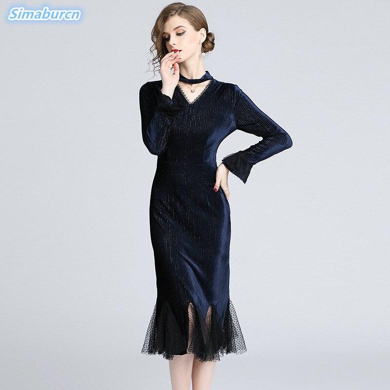 53081b7f1 solid Femmes Dames Pack Robes Mode 2 Maille Tempérament Pour À ...