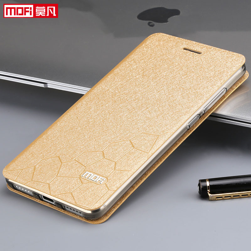 Image 5 - xiaomi redmi note 4 global version case book flip luxury leather silicone funda mofi phone case xiaomi redmi note 4 global cover-in Flip Cases from Cellphones & Telecommunications