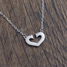 925 Sterling silver Pendant necklace Love to hollow out Women fashion jewelry