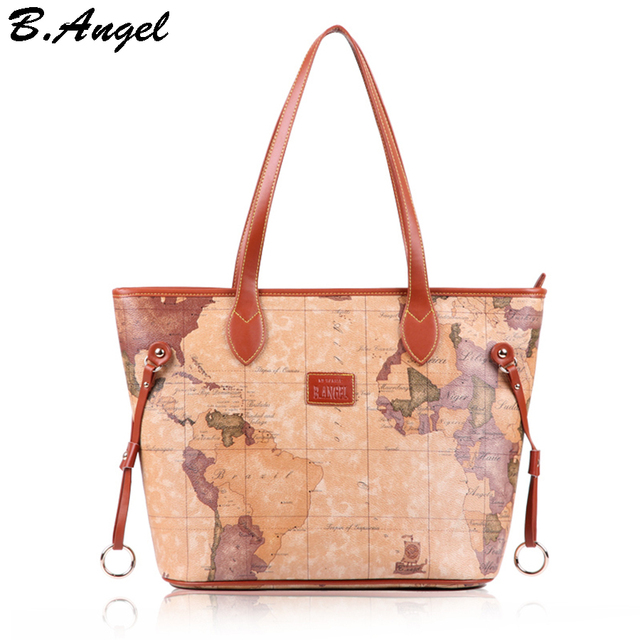6124a77513096 Women map bag vintage handbag luxury handbags women bags designer retro  bags handbags women famous brands purse tote bag women