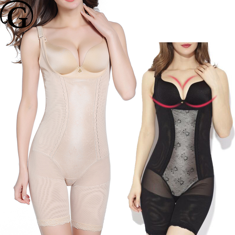 PRAYGER Nuove Donne Plus Size 5XL Full Body Shaper Che Dimagrisce Ascensore Coscia Tute Reggiseno Controllo Addome Tummy Shapewear