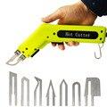 Alta calidad 100 W mano agarre cuchillo de calefacción cortador de tela de corte caliente herramientas de corte eléctrico cortador caliente