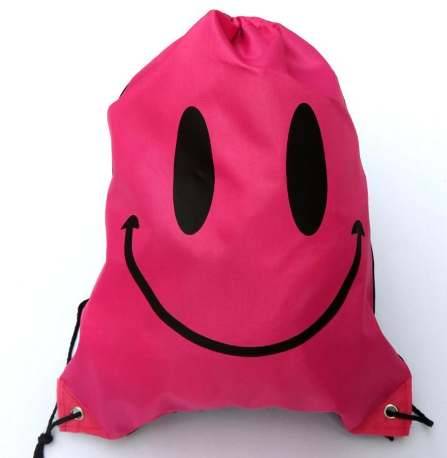 Drawstring Beach Bag Gym Waterproof Backpack Dance Duffl