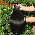 6A Grade Rosa Hair 3 bundles brazilian virgin hair straight human hair weaves straight brazillian straight hair extension