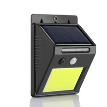 48/96 COB Solar Light Led Outdoor Solar Wall Light Garden  Home Super Bright COB Wall Lamp Body Sensor Light Security Light