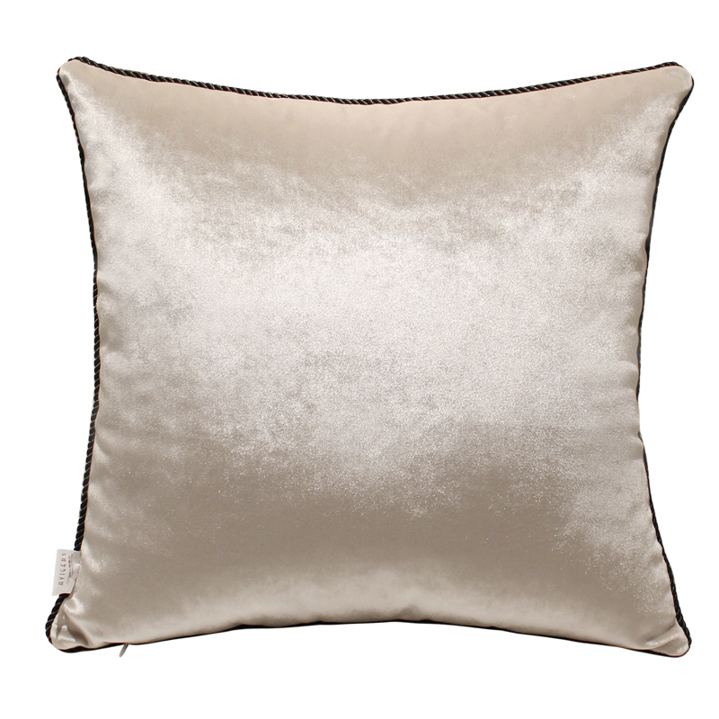 Velvet luxurious cushions without inner decorative throw for Coussin sofa exterieur