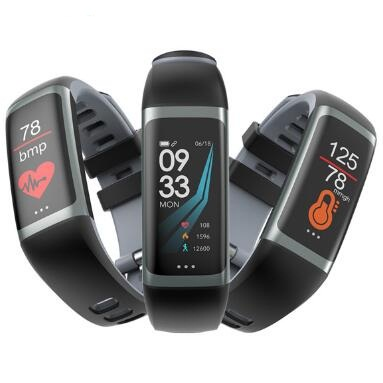 Gelang Pintar G26 Heart Rate tekanan darah Oksigen Smart Wristband Tracker Kebugaran Sukan Watch PK mi band 3 Pk kehormatan band 4