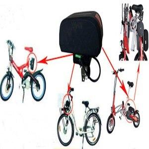 Image 5 - Чехол для аккумулятора 36 В, складной чехол для велосипеда с литиевым аккумулятором haibao, чехол для аккумулятора с дисплеем питания, задний светильник