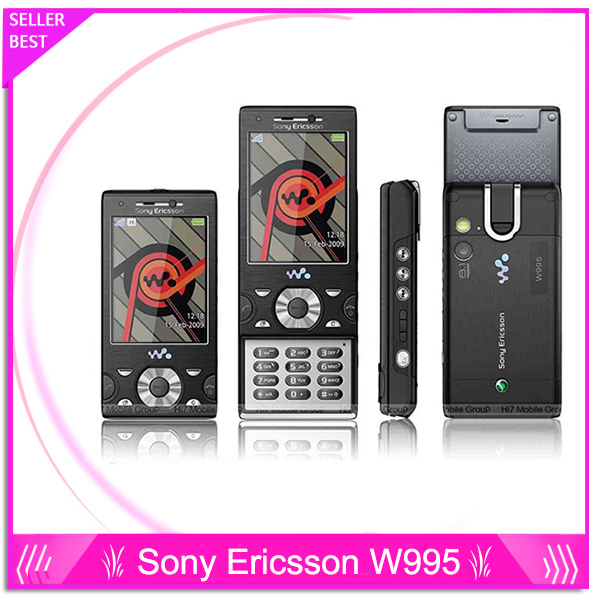w995 Original Sony Ericsson w995 mobile phone 3G network Walkman 4 0 player WIFI Bluetooth GPS