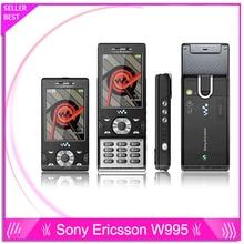 W995 Original Sony Ericsson w995 handy 3G netzwerk Walkman 4,0 player WIFI Bluetooth GPS handys Kostenloser Versand