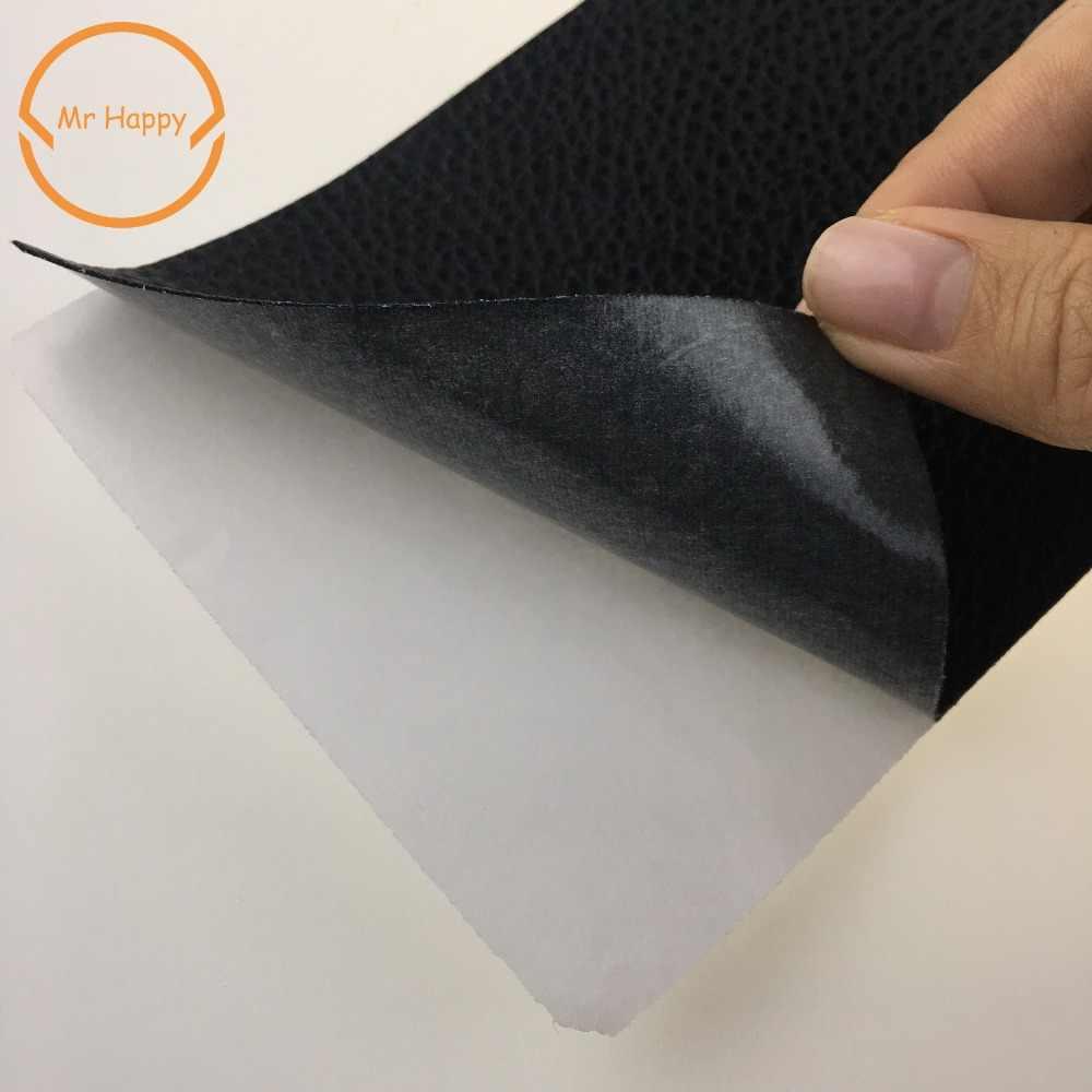 20 ซม.* 10 ซม.12 สีไม่มีรีดผ้า Self Adhesive Stick บนโซฟาเสื้อผ้าซ่อมหนัง PU ผ้าใหญ่ stickr แพทช์