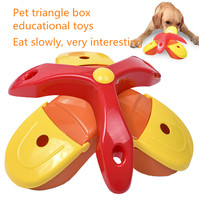 Free Shipping Cat Dog Pet Bowls New Pet Supplies For High IQ Pet Educational Toys Treasure Hunk Game Slow Feeder Training Senses
