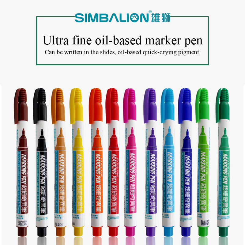 6mm Balloon Decorating Acrylista Pens Paint Marker Permanent Wood Glass Plastic