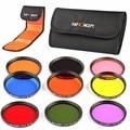 52/58/67mm Full Color Lens Filter Kit ND Neutral Density for Nikon D5100 D5200 D3100 D3200 D7100 Canon 700D 1100D 600D T3i T2i