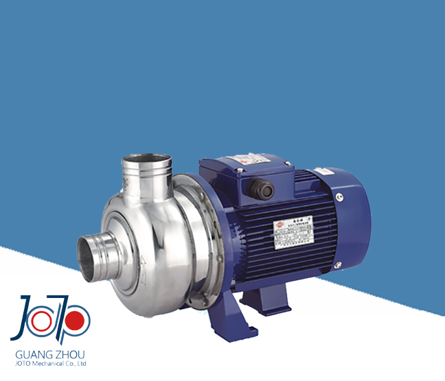 BK200 380V 50Hz Three Phase Stainless Steel Dishwasher Use Centrifugal Pump With Semi open Impeller