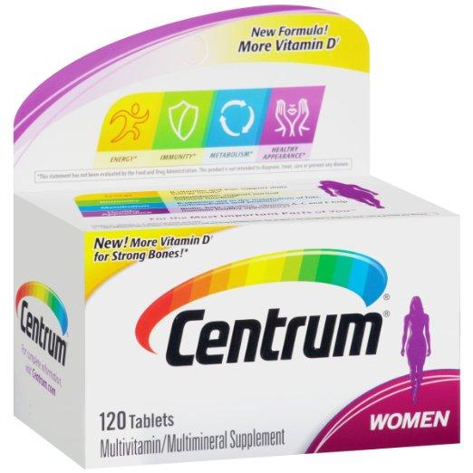 ФОТО Centrum Women Multivitamin/Multimineral Supplement (120-Count Tablets)