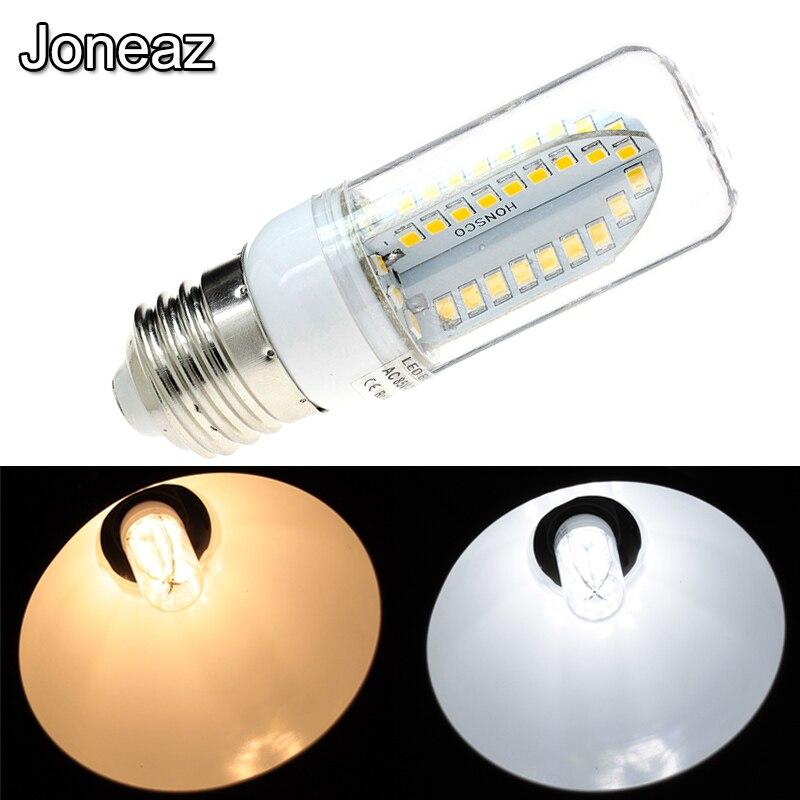 Joneaz 10x 12v 24v led bulb light E12 E14 E 27 GU10 B22 G9 12 24