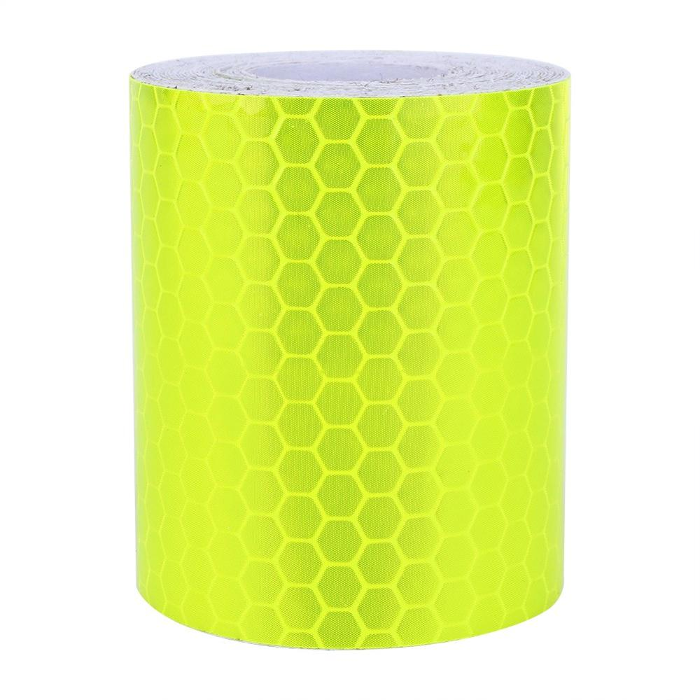 1PC Reflective Safety Warning Tape Film Sticker Conspicuity Tape Roll 5 Colors Optional <font><b>Car</b></font> Wall Sticker Warning Tape Roll 3M image