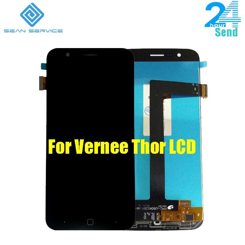 Für Original Vernee Thor handy LCD Display + TP Touchscreen Digitizer Montage + Werkzeuge 5,0
