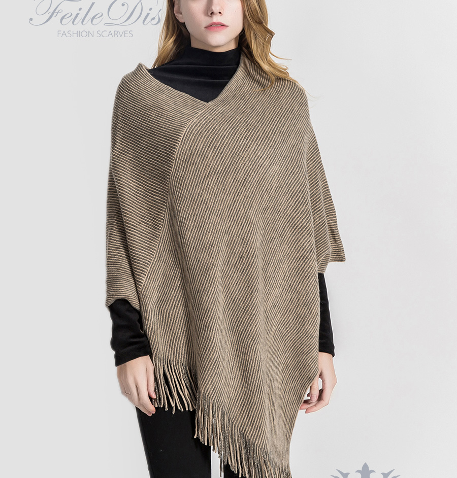 100% authentifié quantité limitée concepteur neuf et d'occasion Accessoires Pour Femme Acheter Pas Cher Cashmere Poncho ...