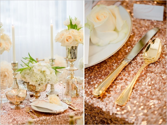 2017 New Rectangle Rose Gold Sequin Tablecloth 120x400cm Wedding Table Cloth Sparkle Linen Cake Overlay In Tablecloths From Home