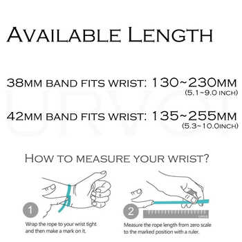 URVOI band for apple watch link bracelet series 5 4 3 2 1 strap for iWatch high quality stainless steel adjustable band gen.6th