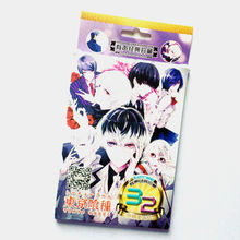 Powerangel 32pcs Box Tokyo Ghoul Anime Sticker Paper Phone Laptop Stickers Classic Toys Skateboard Doodle Sticker