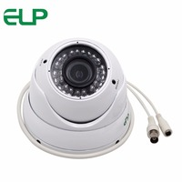 ELP CCTV Sony 700TVL ir outdoor wateroof Manual zoom Varifocal 2.8 12mmm lens Dome analog camera For indoor home Security