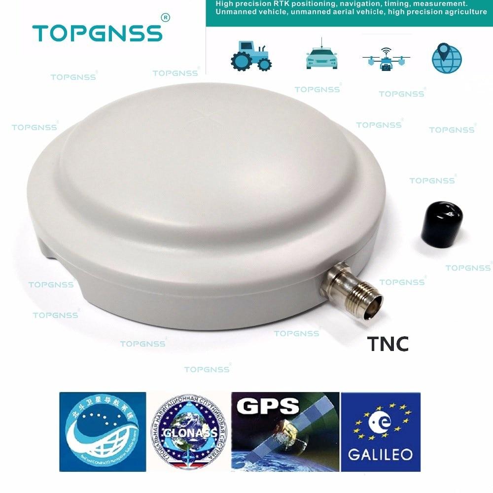 Antenne GPS/Glonass/Beidou/Galileo, antenne GNSS, antenne GPS RTK haute précision, aimant fixe, connecteur TNC
