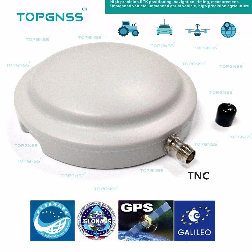 GPS/Glonass/Beidou/Galileo antenne, antenne GNSS, Haute-Précision enquête Haute précision RTK GPS antenne, aimant fixe, TNC connecteur