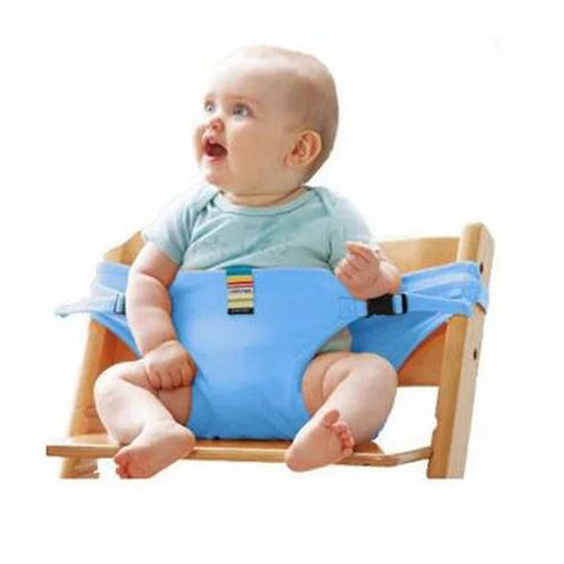 2019 Baby Dining Chair Safety Belt Portable Seat Lunch Chair Seat Stretch Wrap Feeding Chair Harness Baby Booster Seat