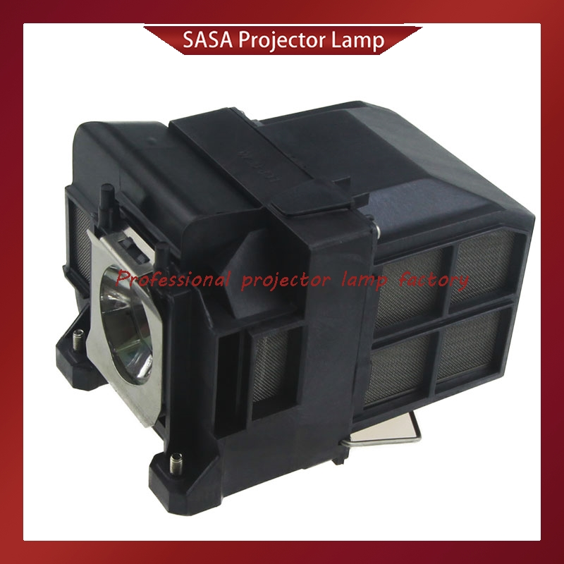 Compatible lamp With housing ELPLP77 for EPSON PowerLite 4650 4750W 4855WU G5910 EB-4550 EB-4750W EB-4850WU EB-1985WU EB-1980WU elplp74 for eb 1930 powerlite 1930 powerlite 1935 compatible lamp with housing free shipping