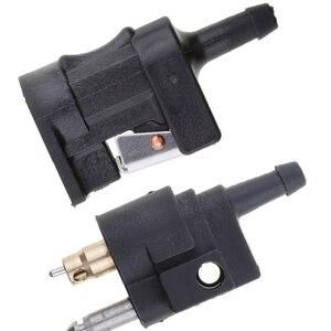 Image 5 - Топливная линия мужской + Женский Разъем для Yamaha подвесной мотор бак боковой мотор fuera de borda лодочные моторы