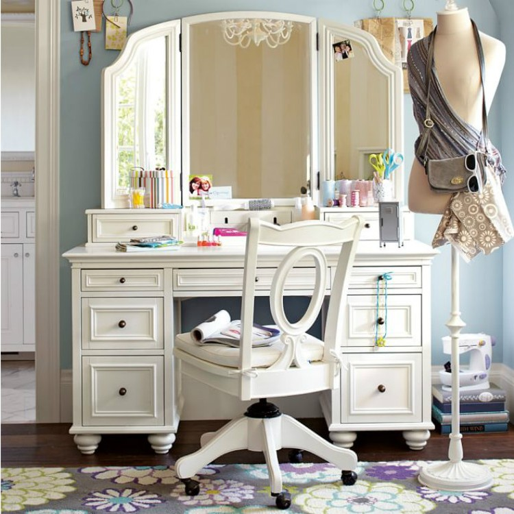 American Continental Bedroom Wood Dresser Dressing Table