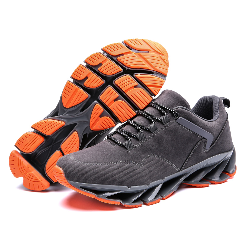 2019 Time-limited Men Running Shoes Bow-blade Outdoor Sports For Cushioning Spring Blade Cool Breathable Male Sneakers Promotion