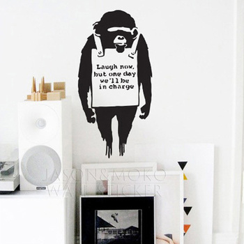 Orangutan Mono Banksy Adhesivos De Pared Banksy Diseno Grafico