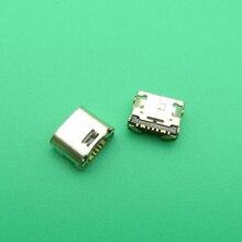 500 قطعة/الوحدة مايكرو البسيطة USB جاك موصل مقبس شاحن ميناء الشحن لسامسونج غالاكسي كور رئيس G360 G361F تبويب E T560 t561