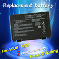 JIGU New laptop battery for asus F52 P81I X5JI F52A P81IJ X5JIJ F52Q PR05C X5JX F82 PR05D X65 F82A PR05E X66 F82Q PR05J X66I