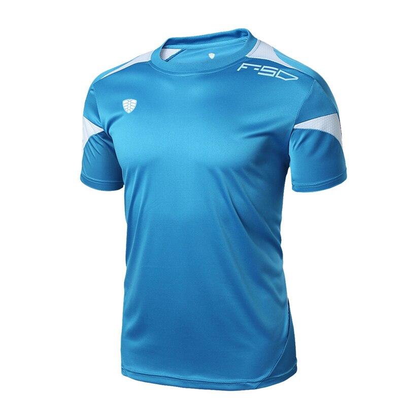 FANNAI Men Gym Shirt Running Shirts Quick Dry Fitness T-shirt Men's Tops Tees Clothing Short sleeve Jerseys Gym Sportswear 5