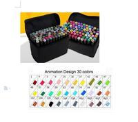 アートマークペンアルコールマーカーペン水溶性ペン漫画グラフィティアートコピックスケッチマーカーデザイナーのための禁止
