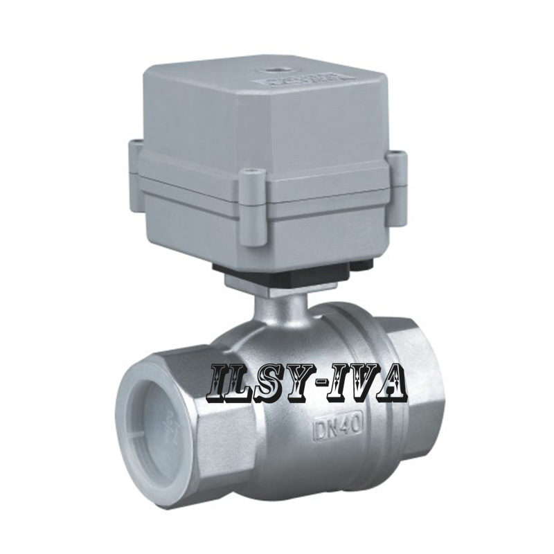 Stainless steel AC/DC 12~24V actuator valve,2 way DN32,DN40,DN50 electric ball valve with Indicator мультиметр uyigao ac dc ua18